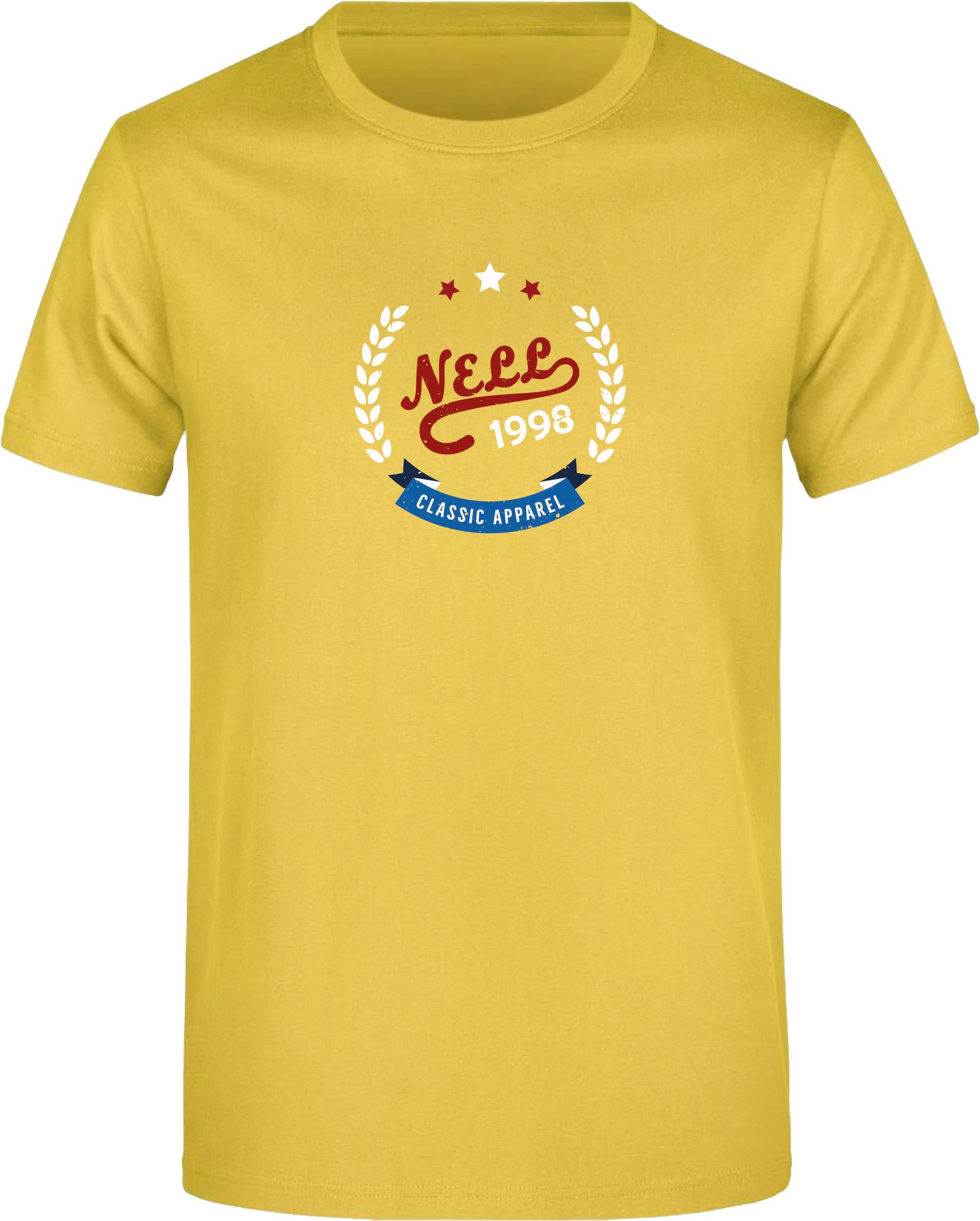 Pánské triko Nell Alvar yellow