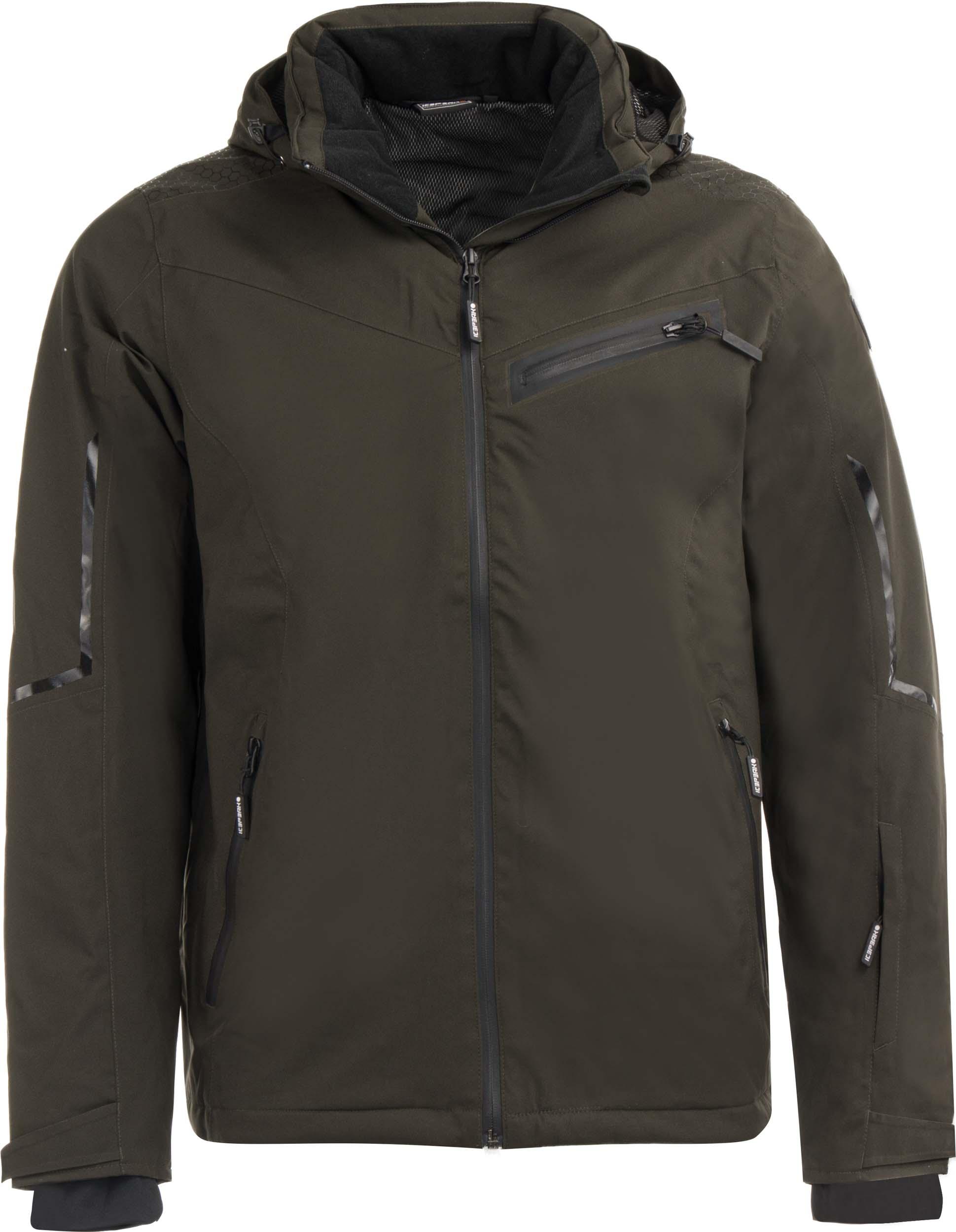 Pánská lyžařská bunda Icepeak Verl Wadded Jacket