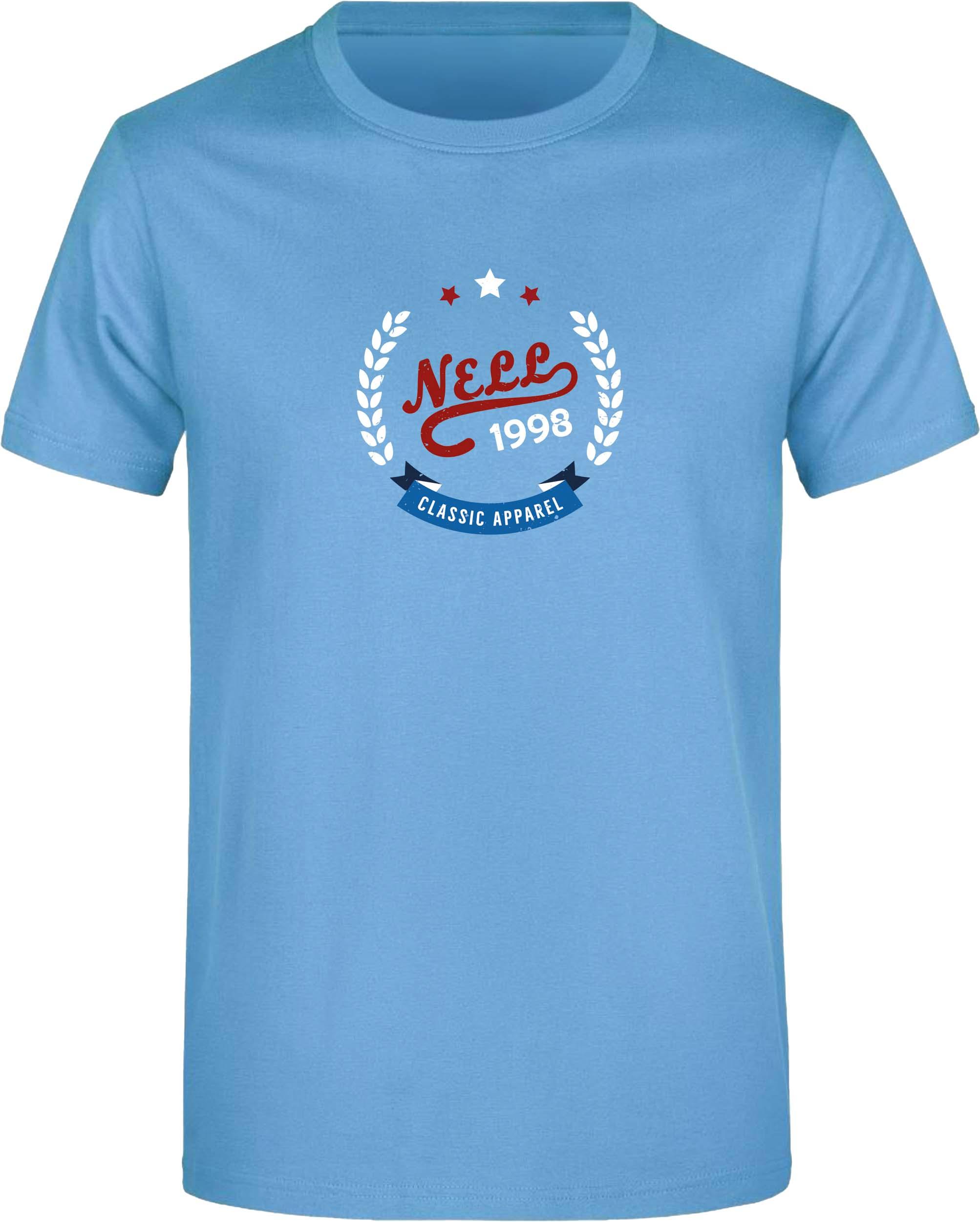 Pánské triko Nell Alvar sky blue