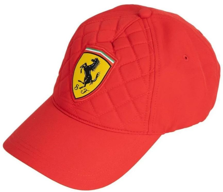 Kšiltovka Ferrari SW Quilt Cap red