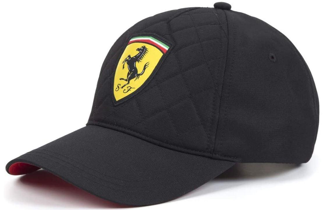 Kšiltovka Ferrari SW Quilt Cap black