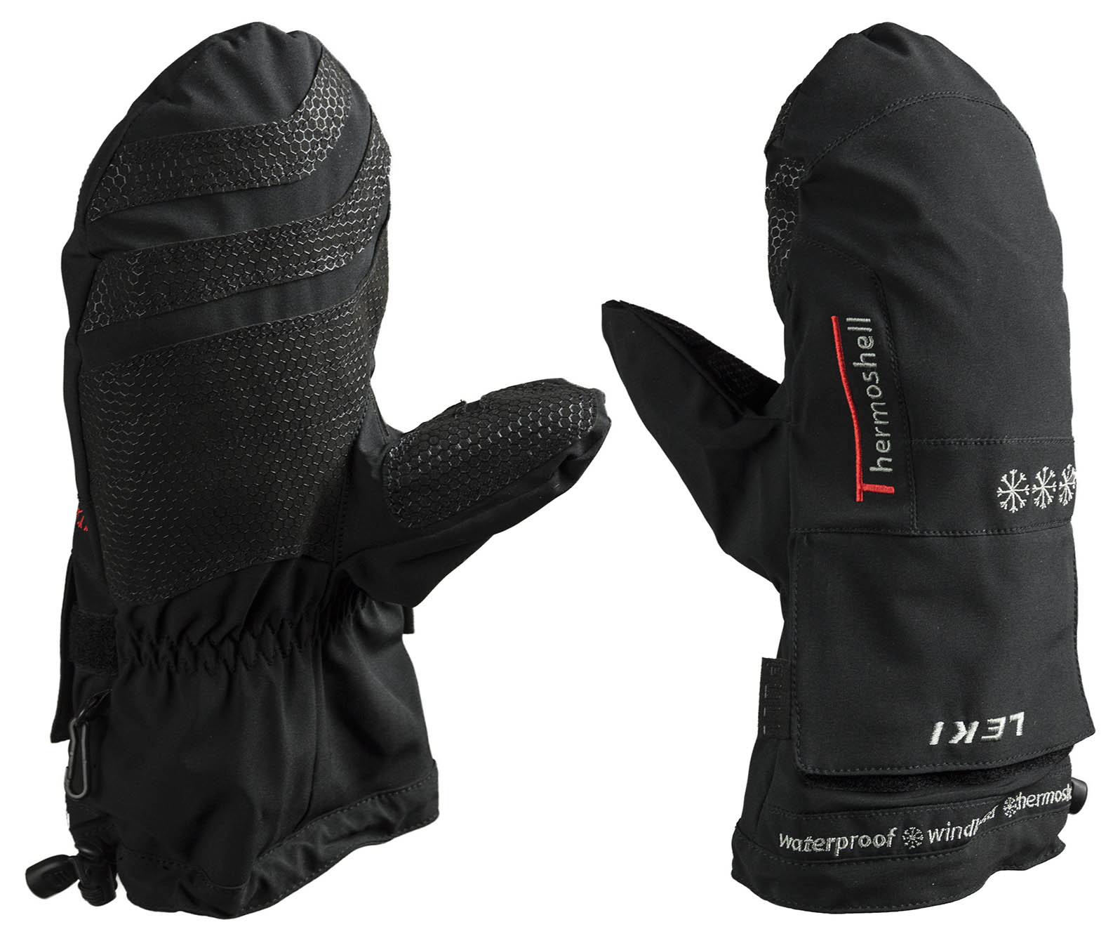 Návleky na lyžařské rukavice Leki ThermoShell