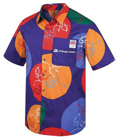 Pánská košile Alpine Pro Darvis