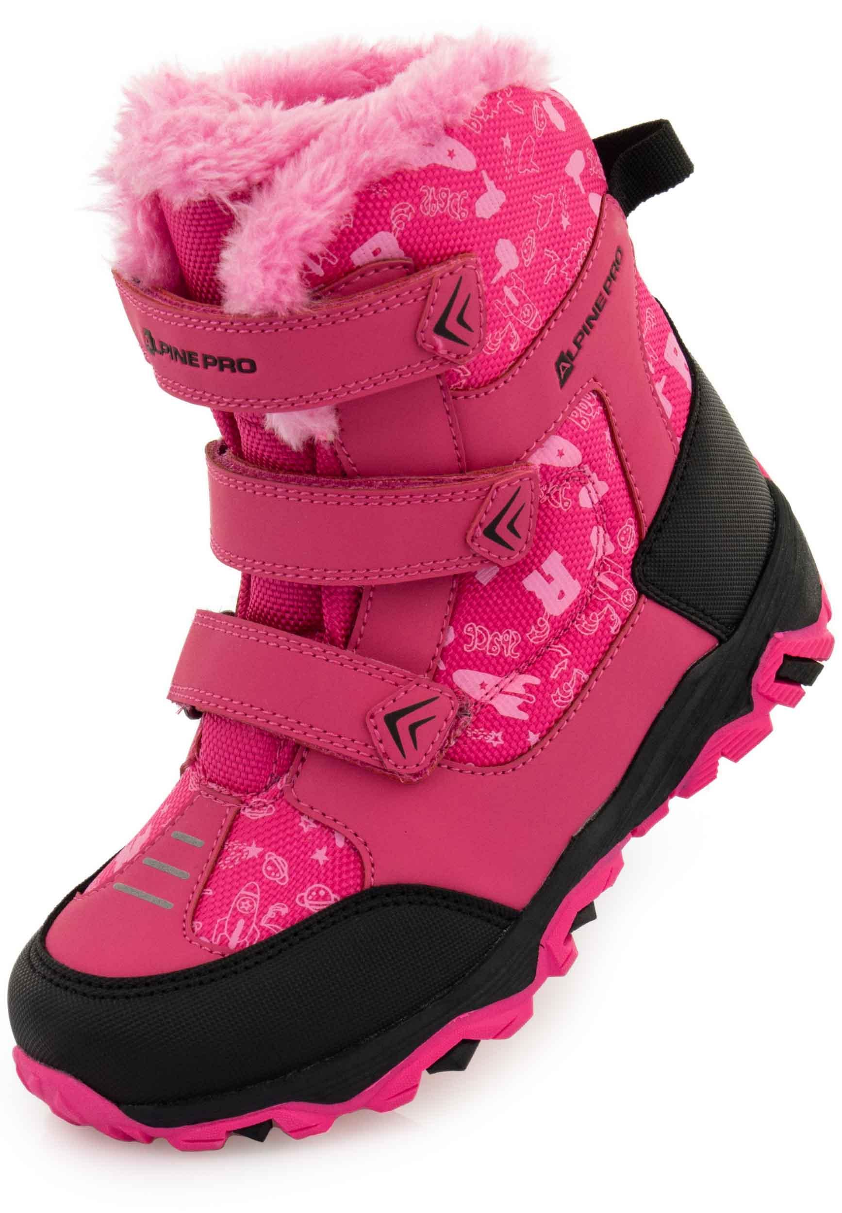 Dětská zimní obuv Alpine Pro Mikulo