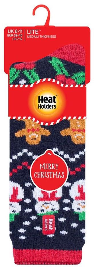 Pánské vánoční ponožky Heat Holders Snowman EUR 39-45