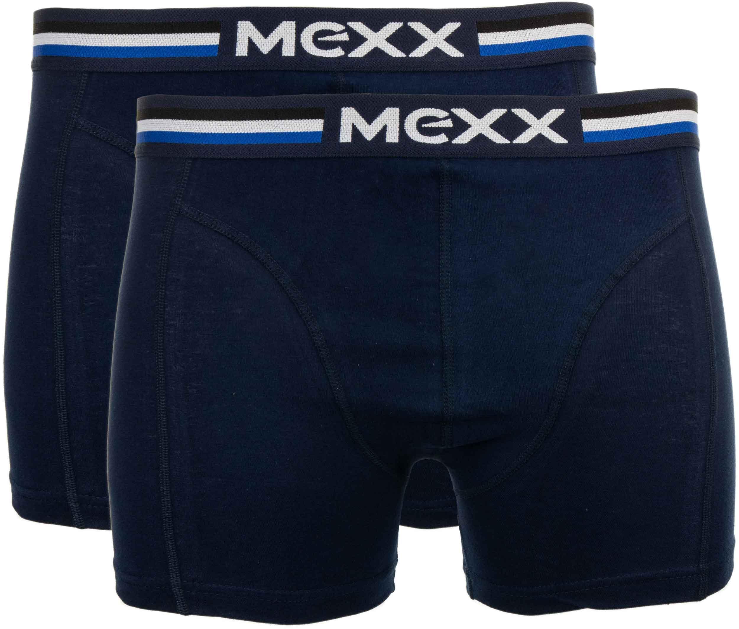 Pánské boxerky Mexx 2P navy reguler