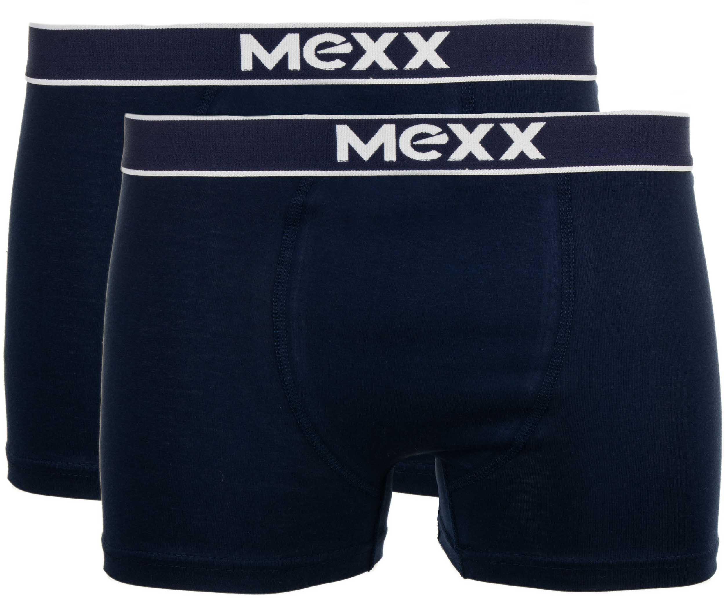 Pánské boxerky Mexx 2P navy short