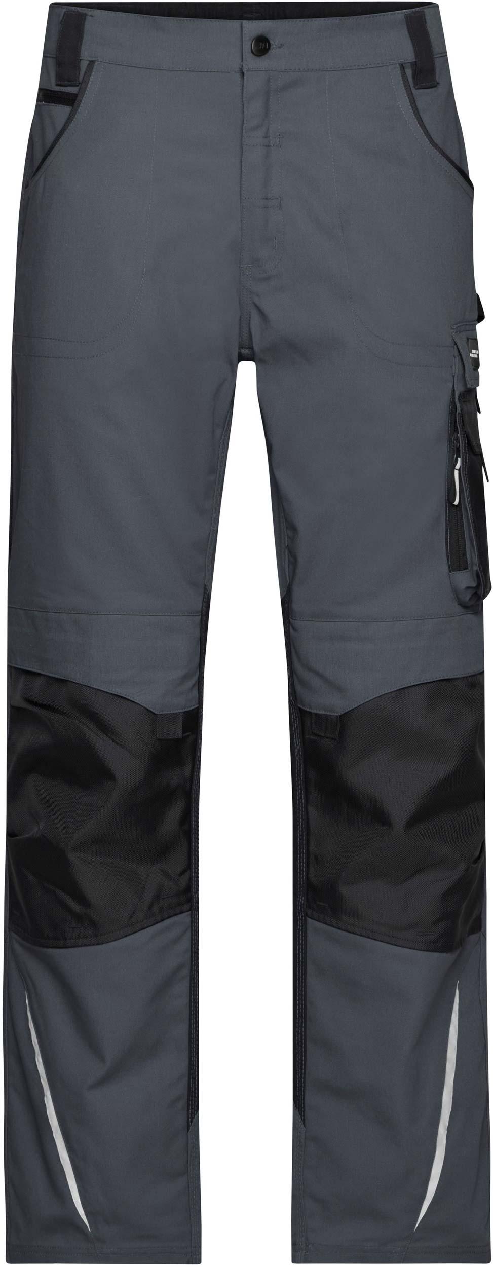 Pracovní kalhoty James & Nicholson Workwear Carbon