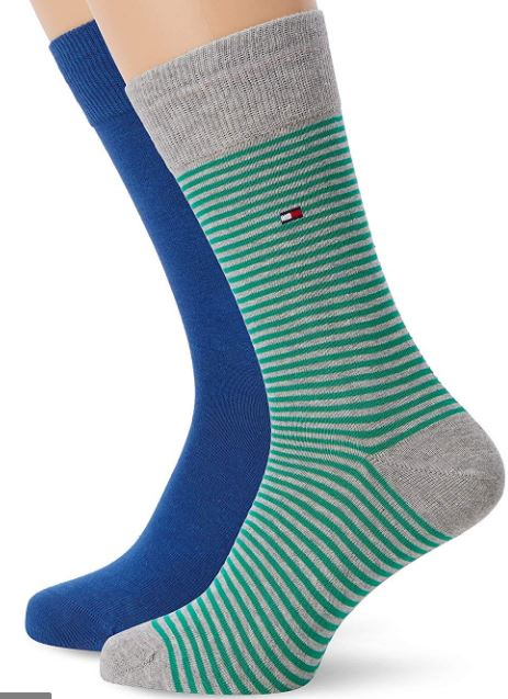 Pánské ponožky Tommy Hilfiger Stripe 2-pack