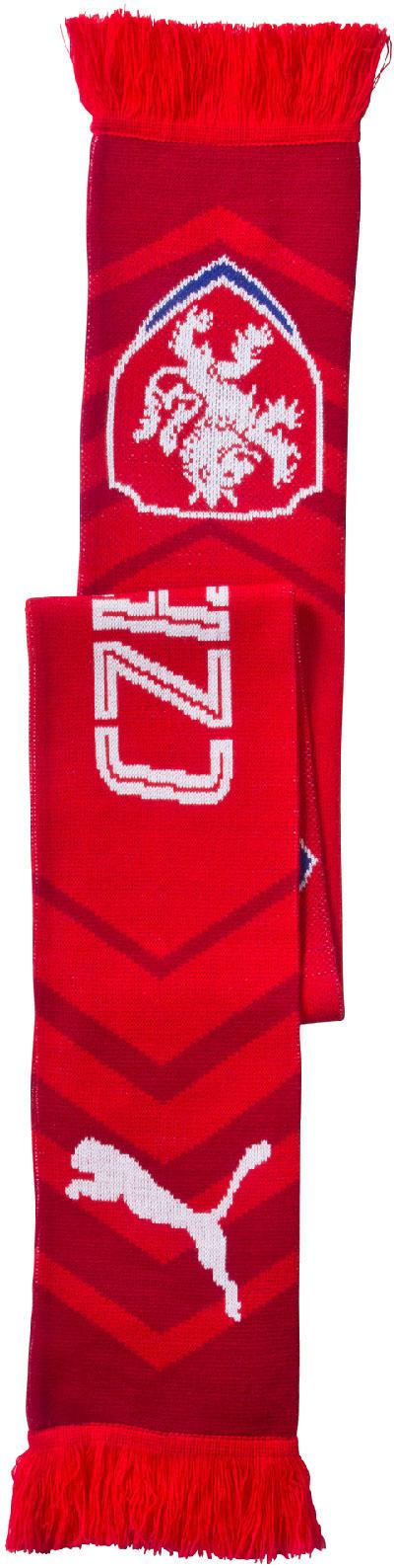 Šála Puma Czech Republic Fanscarf