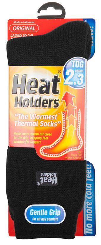 Dámské ponožky Heat Holders Original černé 37-42