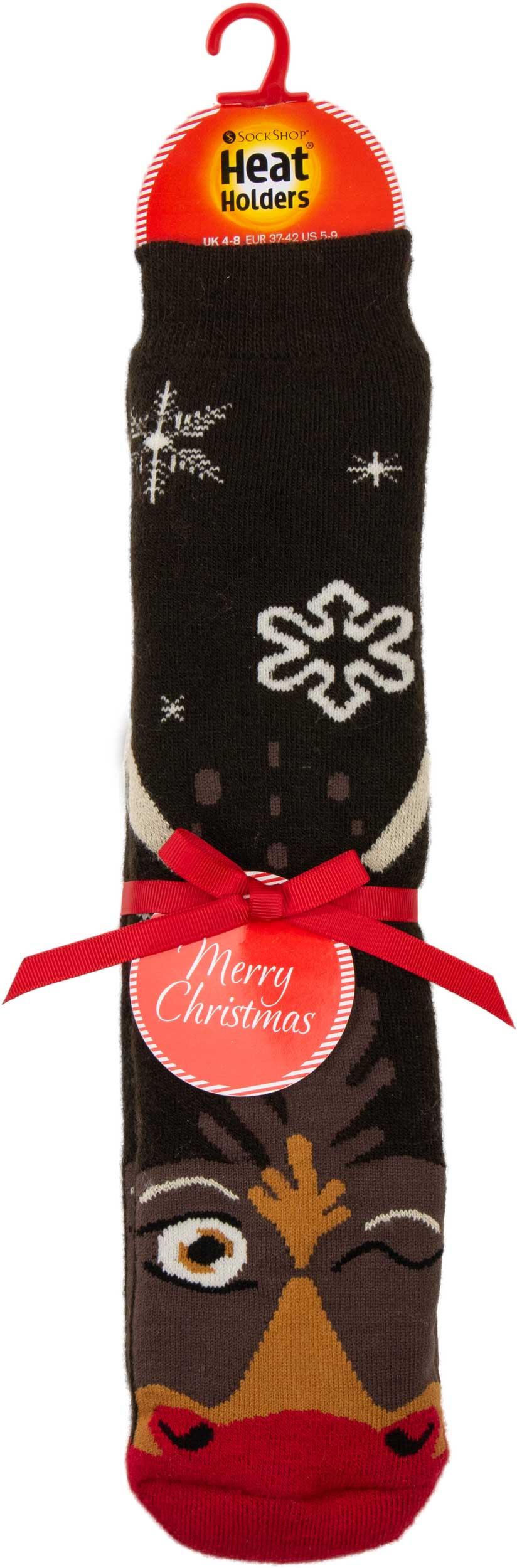 Vánoční ponožky Heat Holders Sob ABS EUR 37-41