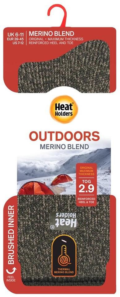 Pánské ponožky Heat Holders Merino Wool Blend EUR 39-45