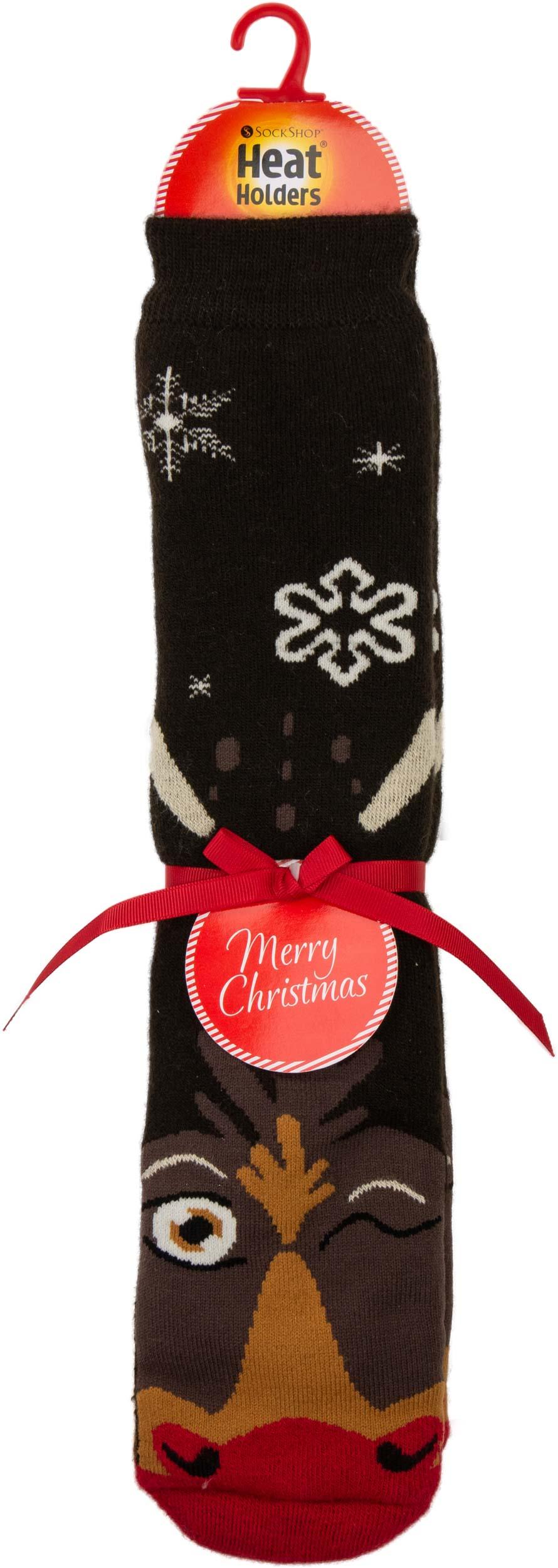 Pánské ponožky Heat Holders Christmas Rudolph EUR 39-45