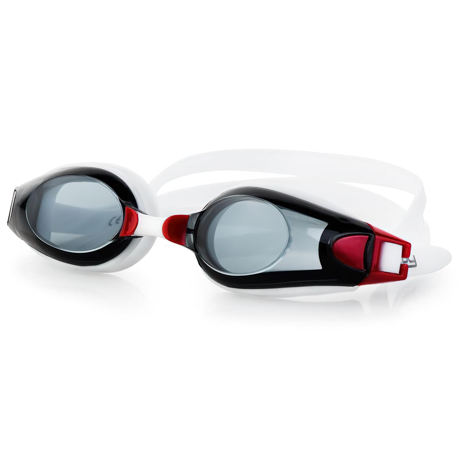 Plavecké brýle ROGER černo-červené