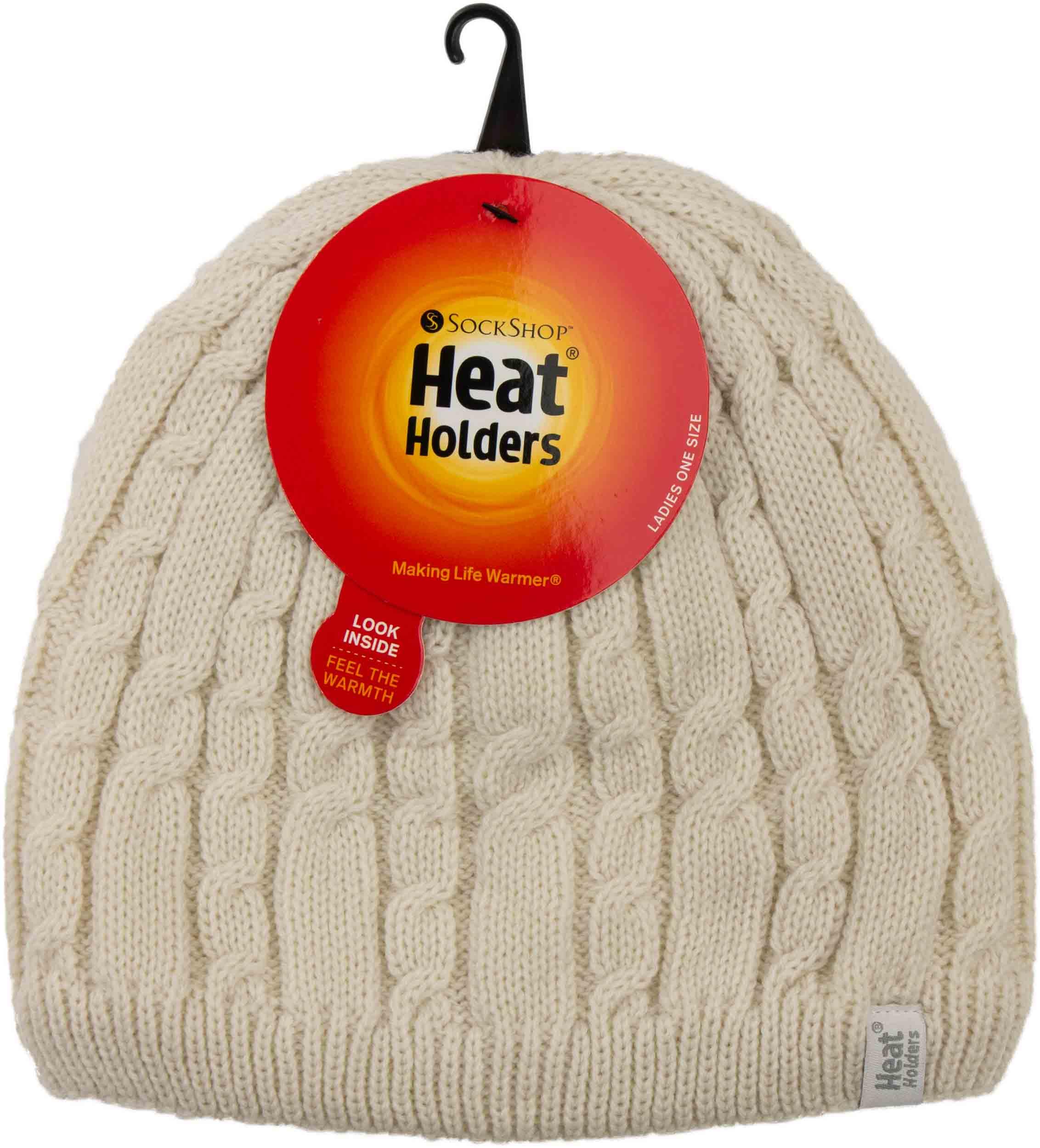 Dámská zimní čepice Heat Holders Alesund krémová