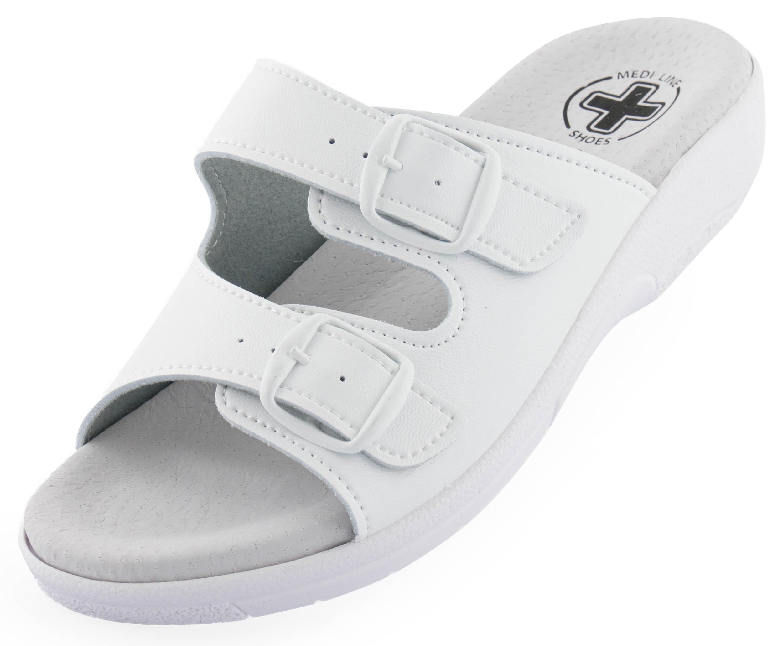 Dámské pantofle Golden Fit 10002 white