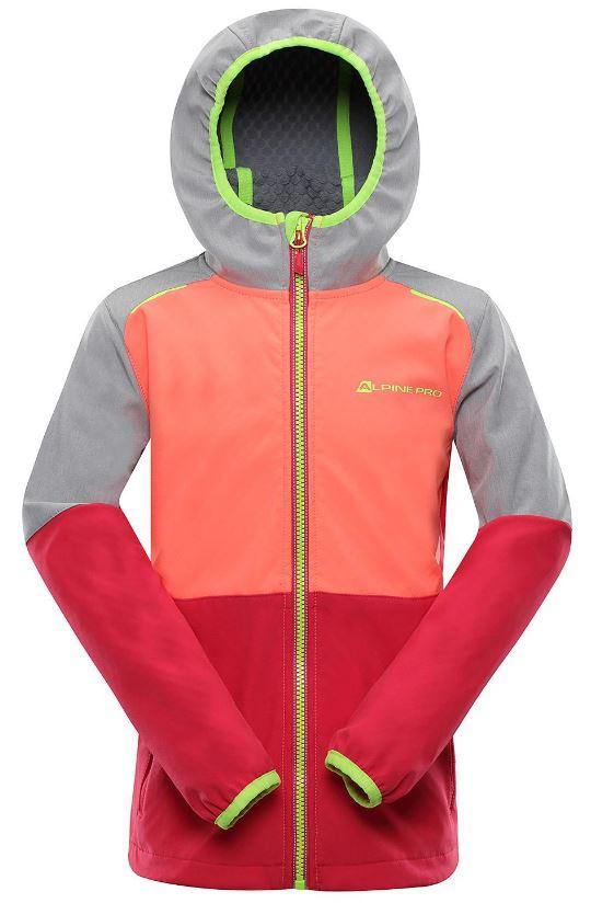 Dětská softshellová bunda Alpine Pro Nootko 10