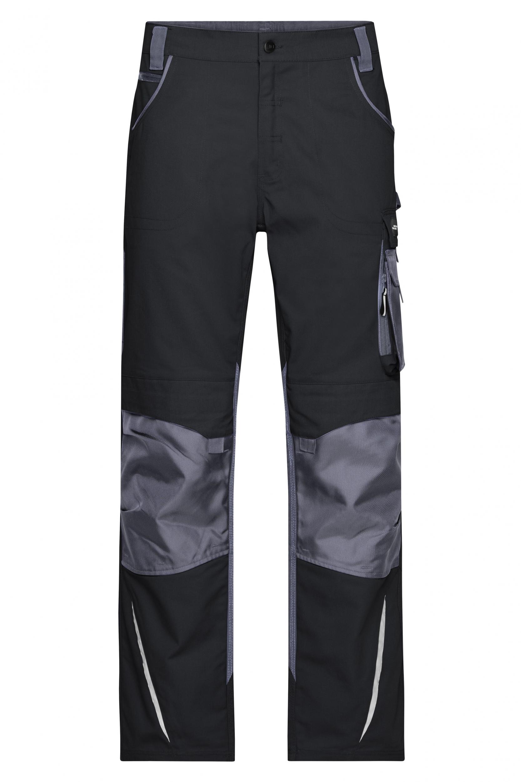 Pracovní kalhoty James & Nicholson Workwear Black