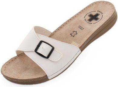 Dámské pantofle Medi Line S402.098 white