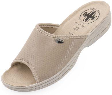 Dámské pantofle Medi Line 511 beige