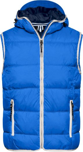 Pánská vesta James & Nicholson Maritime Nautic Blue