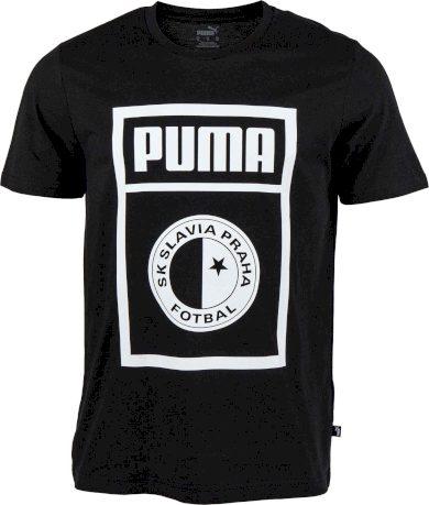Pánské triko Puma SLAVIA PRAGUE GRAPHIC TEE