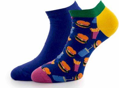 Ponožky Happy Socks Hamburger 2p