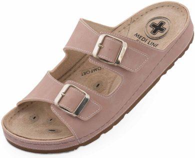 Dámské pantofle Medi Line S182.002 pink