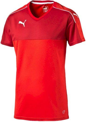 Pánský dres Puma Accuracy Shortsleeved Shirt red
