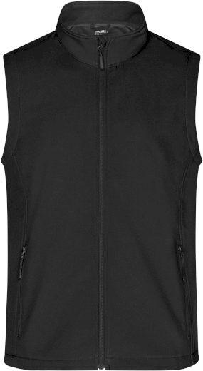 Pánská vesta James & Nicholson Promo Black