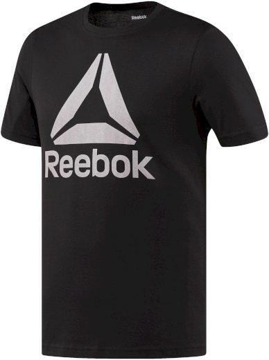 Pánské triko Reebok Stacked Logo
