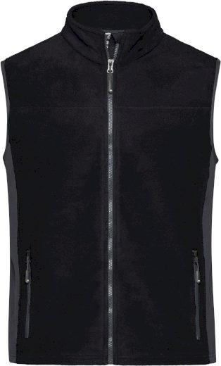 Pánská vesta James & Nicholson Workwear Stone