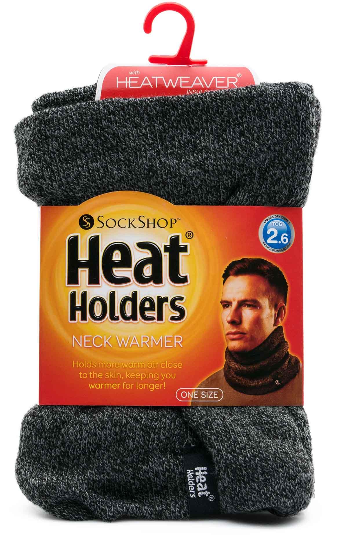 Pánský zimní nákrčník Heat Holders melír