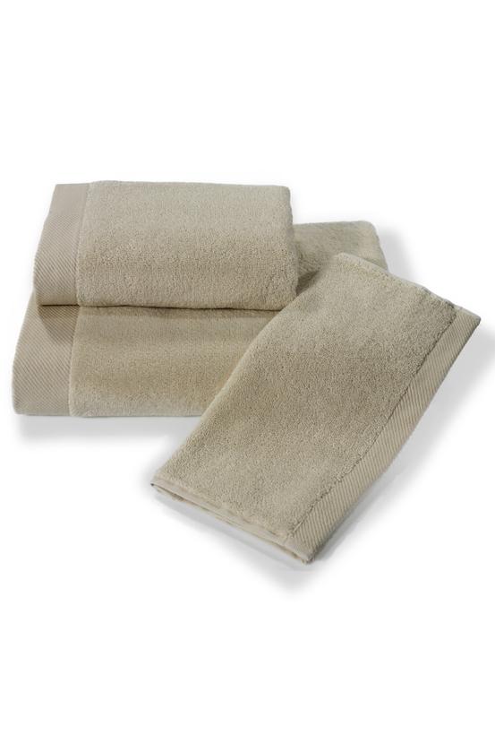 Soft Cotton Malý ručník MICRO COTTON 32x50 cm, Světle béžová, 550 gr / m², Česaná prémiová bavlna 100% MICRO