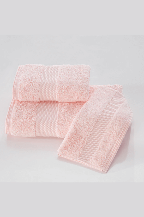 Soft Cotton Luxusní malý ručník DELUXE 32x50cm z Modalu, Růžová, 650 gr / m², Modal - 17% modal / 83% výběrová bavlna
