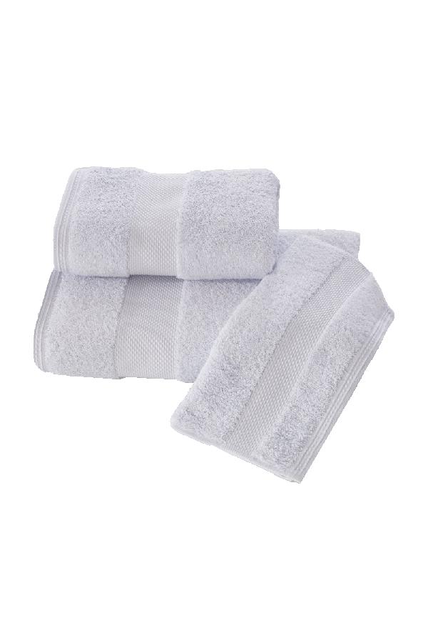 Soft Cotton Luxusní malý ručník DELUXE 32x50cm z Modalu, Světle modrá, 650 gr / m², Modal - 17% modal / 83% výběrová bavlna