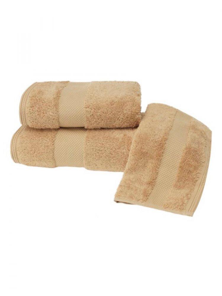 Soft Cotton Luxusní malý ručník DELUXE 32x50cm z Modalu, Hořčicová, 650 gr / m², Modal - 17% modal / 83% výběrová bavlna