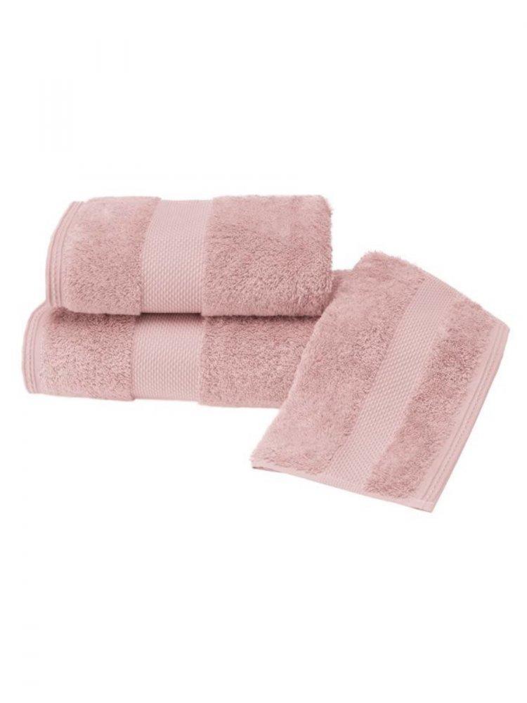 Soft Cotton Luxusní malý ručník DELUXE 32x50cm z Modalu, Starorůžová, 650 gr / m², Modal - 17% modal / 83% výběrová bavlna