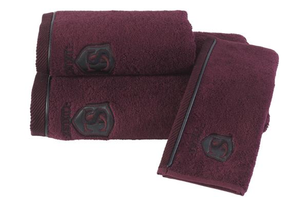 Soft Cotton Malý ručník LUXURY 32x50 cm, Bordó, 580 gr / m², Česaná prémiová bavlna 100%