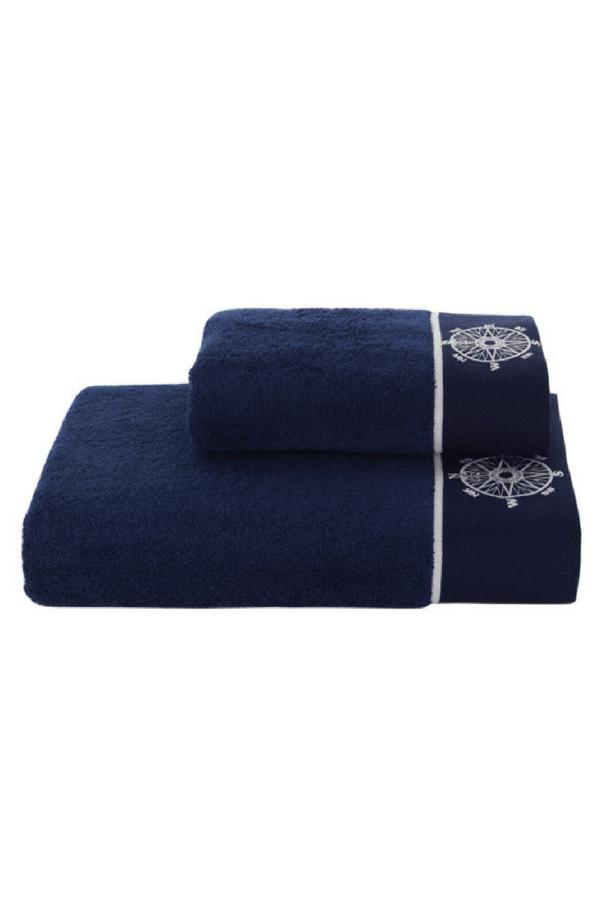 Soft Cotton Sada Ručníků MARINE LADY 50x100 cm + 85x150 cm, Tmavě modrá, 580 gr / m², Česaná prémiová bavlna 100%