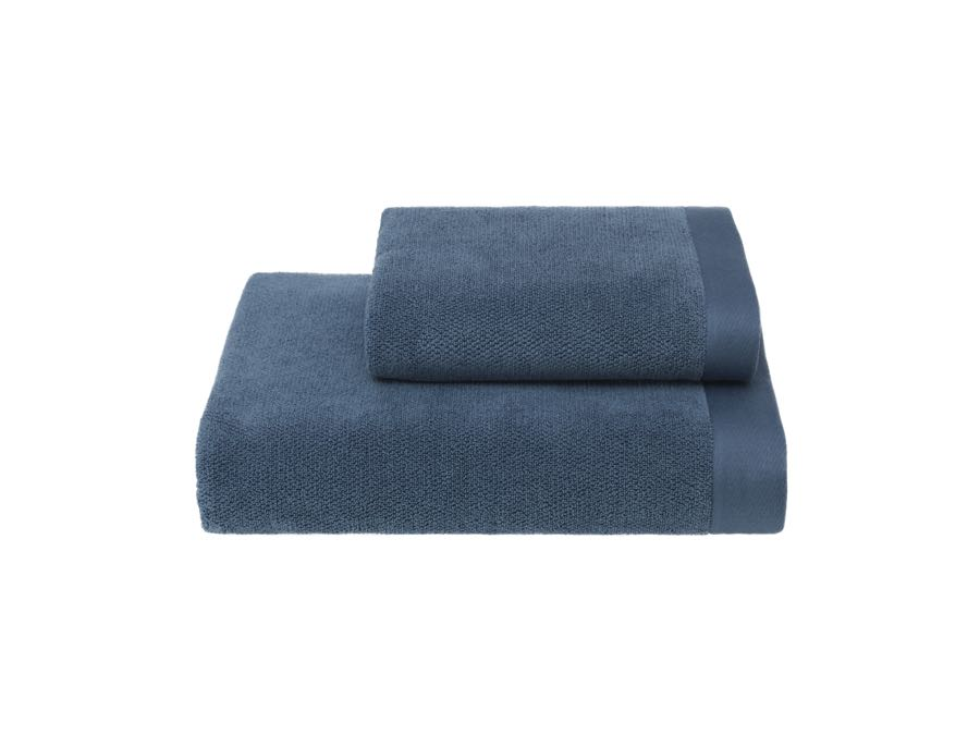Soft Cotton Osuška a ručník LORD, Modrá, 580 gr / m², Česaná prémiová bavlna 100%