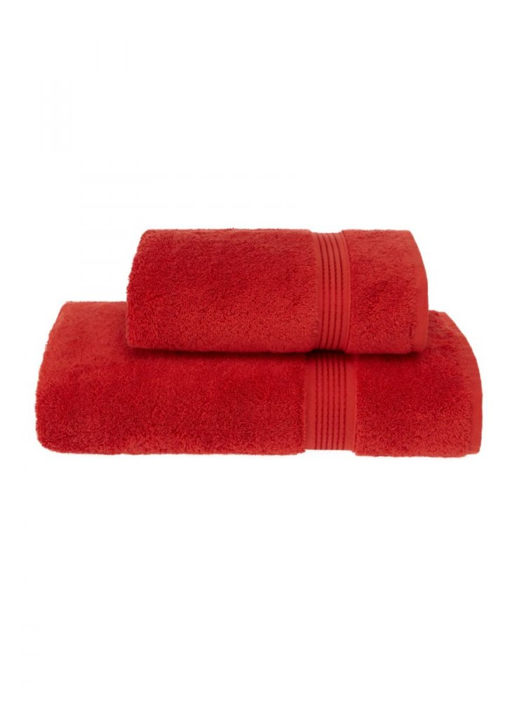 Soft Cotton Dárkové balení ručníků a osušek LANE, Červená, 580 gr / m², Česaná prémiová bavlna 100%