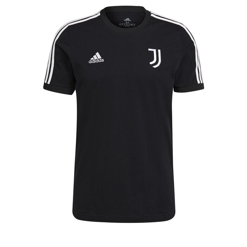 Juventus Turín pánské tričko 3-stripes black adidas 38108