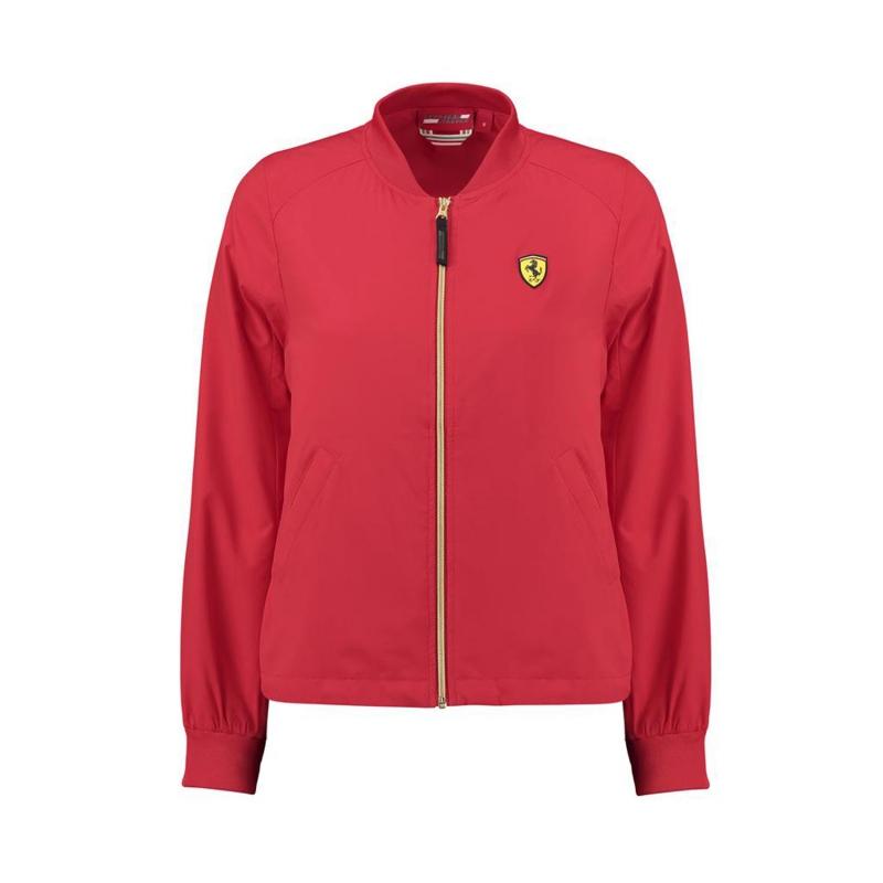Ferrari dámská bunda Bomber red F1 Team 2018 Stichd 130181021600215