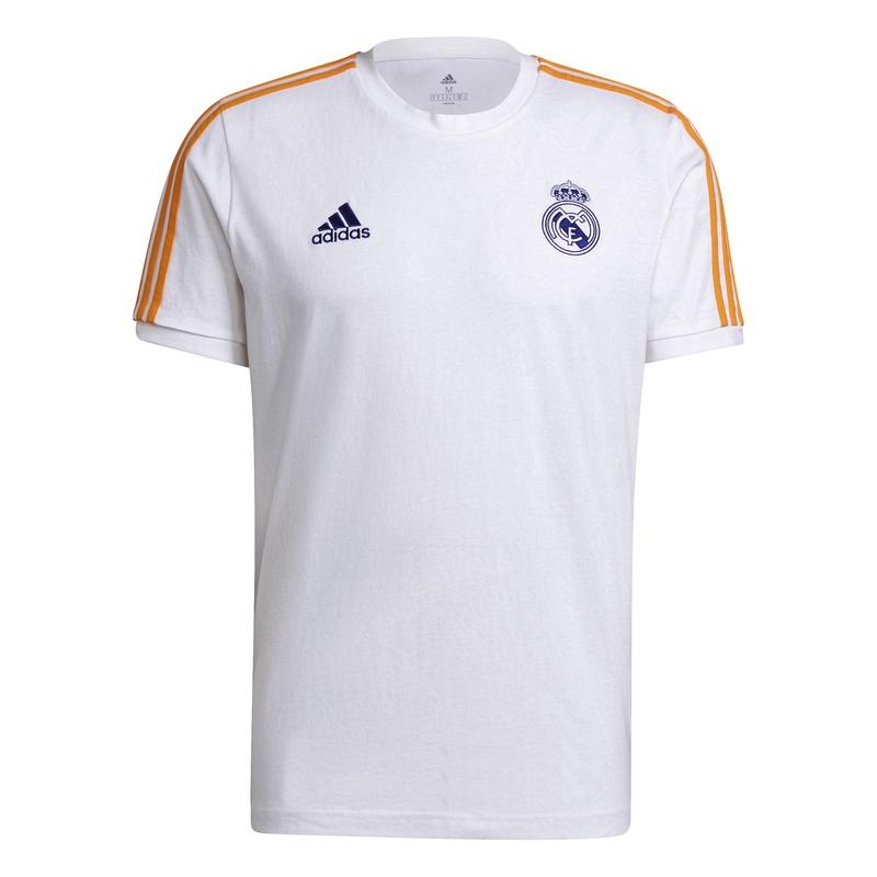 Real Madrid pánské tričko 3-stripes white adidas 38837