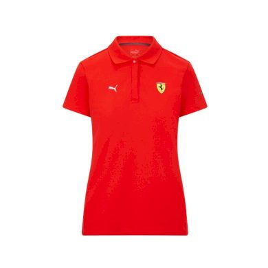 Ferrari dámské polo tričko Classic PUMA Red F1 Team 2021 Puma 701210920001230