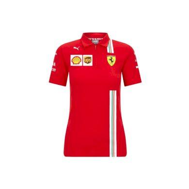 Ferrari dámské polo tričko red F1 Team 2020 Puma 130101038600230