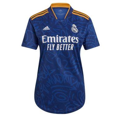 Real Madrid dámský fotbalový dres 21/22 away adidas 39440