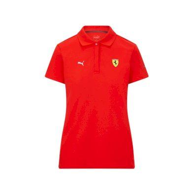 Ferrari dámské polo tričko Classic PUMA Red F1 Team 2021 Puma 701210920001220